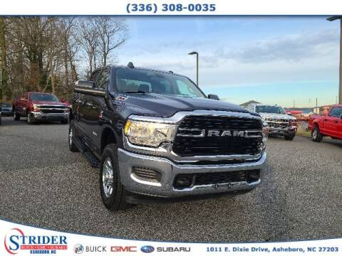 2019 RAM Ram Pickup 2500 for sale at STRIDER BUICK GMC SUBARU in Asheboro NC