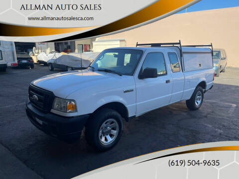 2009 Ford Ranger for sale at ALLMAN AUTO SALES in San Diego CA