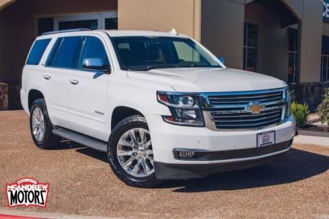 2016 Chevrolet Tahoe for sale at Mcandrew Motors in Arlington TX