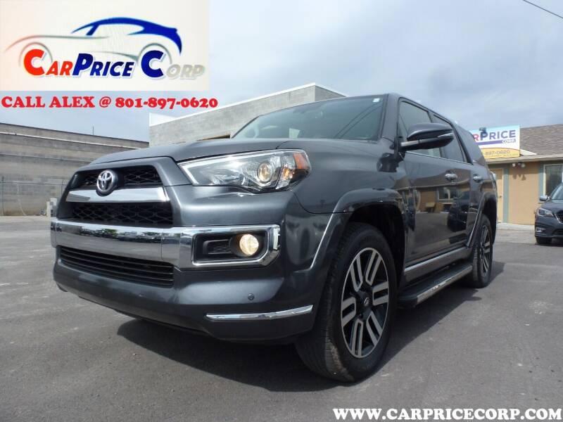 2018 Toyota 4Runner for sale at CarPrice Corp in Murray UT