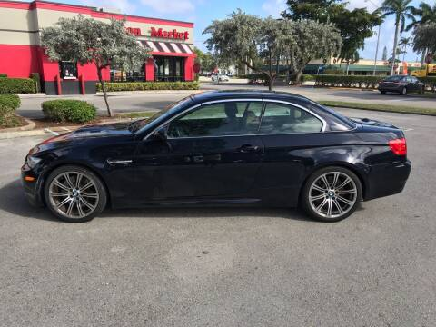 2011 BMW M3 for sale at FIRST FLORIDA MOTOR SPORTS in Pompano Beach FL