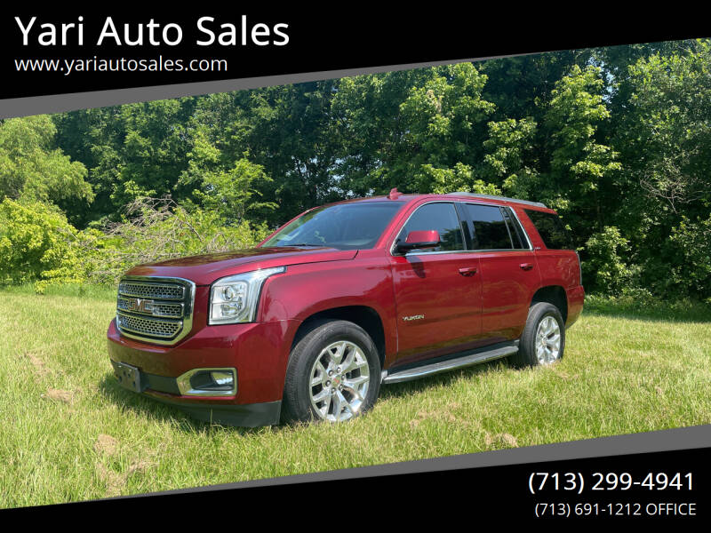 2017 GMC Yukon for sale at Yari Auto Sales in Houston TX