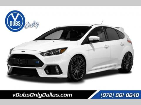 2016 Ford Focus for sale at VDUBS ONLY in Dallas TX