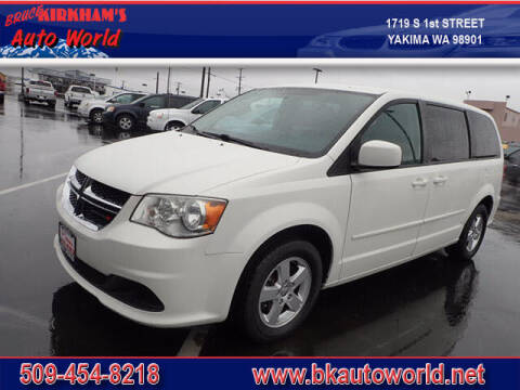 2012 Dodge Grand Caravan for sale at Bruce Kirkham Auto World in Yakima WA