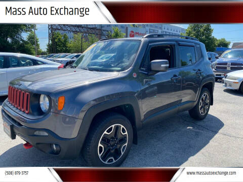 2016 Jeep Renegade for sale at Mass Auto Exchange in Framingham MA