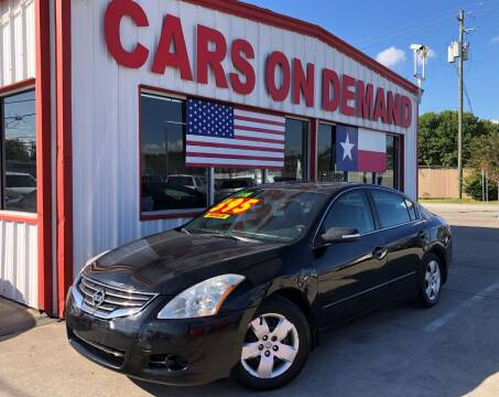 2011 Nissan Altima for sale at Cars On Demand in Pasadena TX