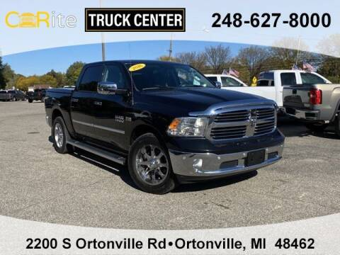 2016 RAM Ram Pickup 1500 for sale at Carite Truck Center in Ortonville MI