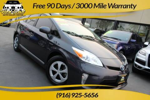 2012 Toyota Prius for sale at West Coast Auto Sales Center in Sacramento CA