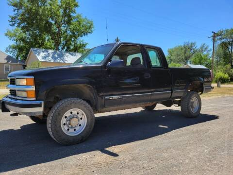 1997 Chevrolet C/K 2500 Series for sale at A & B Auto Sales in Ekalaka MT