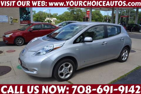 2011 Nissan LEAF for sale at Your Choice Autos - Crestwood in Crestwood IL