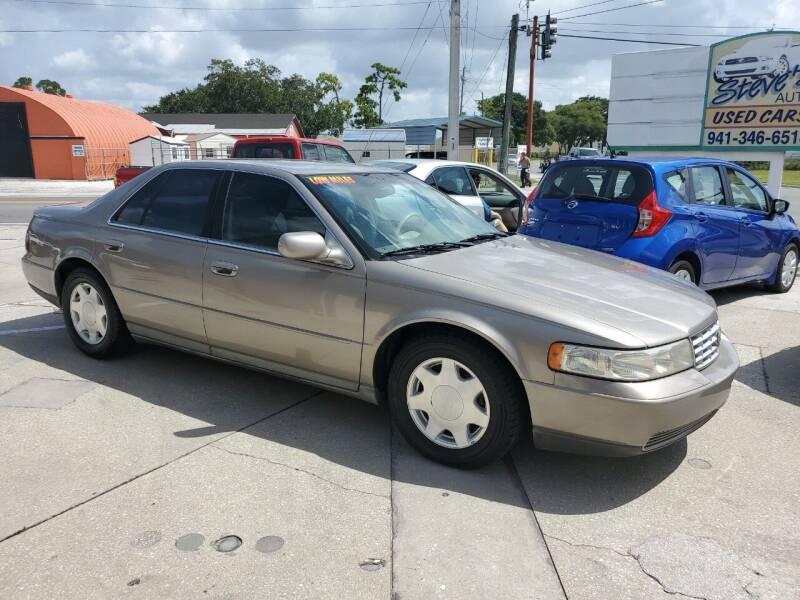 2000 Cadillac Seville for sale at Steve's Auto Sales in Sarasota FL
