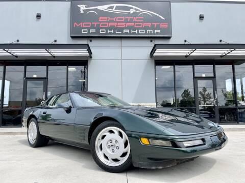 1992 Chevrolet Corvette for sale at Exotic Motorsports of Oklahoma in Edmond OK