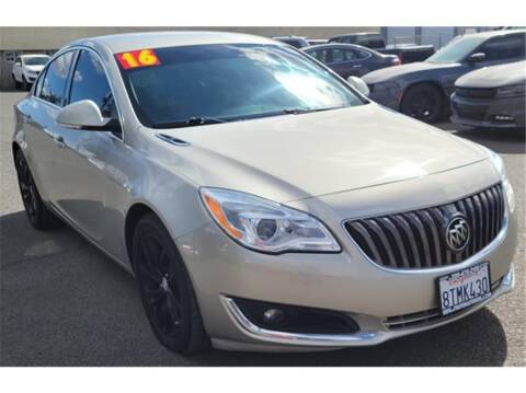 2016 Buick Regal for sale at ATWATER AUTO WORLD in Atwater CA
