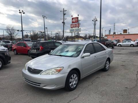 2002 Toyota Camry for sale at 4th Street Auto in Louisville KY