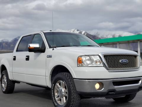 2008 Ford F-150 for sale at FRESH TREAD AUTO LLC in Springville UT