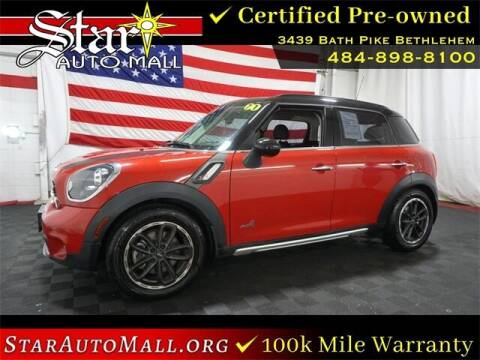 2015 MINI Countryman for sale at STAR AUTO MALL 512 in Bethlehem PA