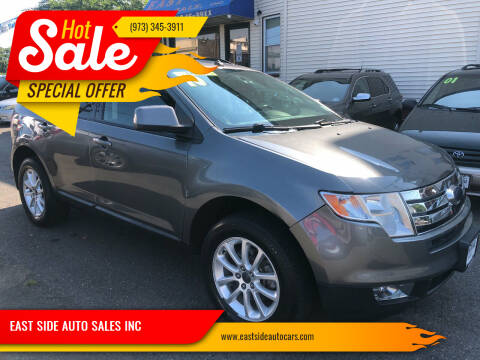 2010 Ford Edge for sale at EAST SIDE AUTO SALES INC in Paterson NJ