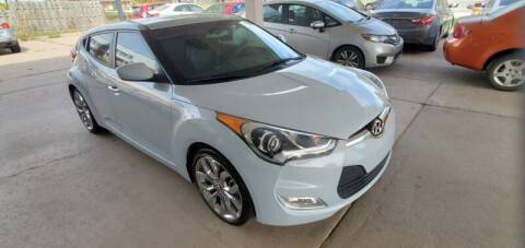 2015 Hyundai Veloster for sale at Divine Auto Sales LLC in Omaha NE
