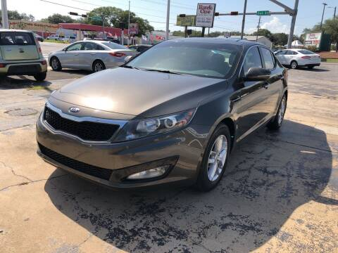 2013 Kia Optima for sale at Beach Cars in Fort Walton Beach FL