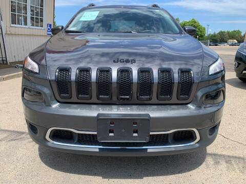 2018 Jeep Cherokee for sale at Minuteman Auto Sales in Saint Paul MN