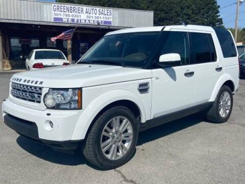 2012 Land Rover LR4 for sale at Greenbrier Auto Sales in Greenbrier AR