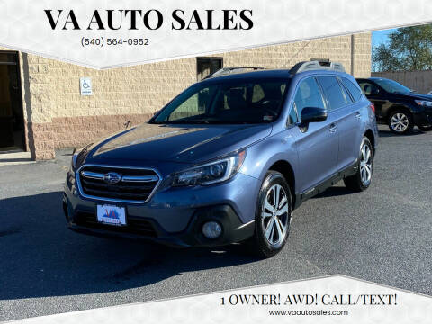 2018 Subaru Outback for sale at Va Auto Sales in Harrisonburg VA