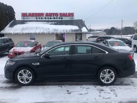 2015 Ford Taurus for sale at BLAESER AUTO LLC in Chippewa Falls WI