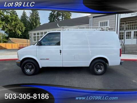 2000 Chevrolet Astro Cargo for sale at LOT 99 LLC in Milwaukie OR