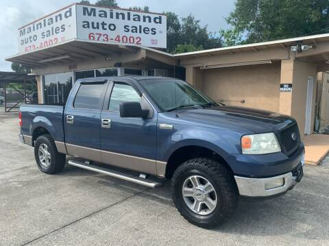 2005 Ford F-150 for sale at Mainland Auto Sales Inc in Daytona Beach FL