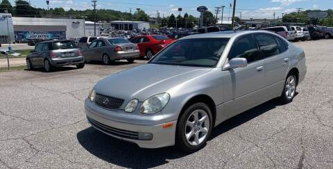 2002 Lexus GS 300 for sale at Hillside Motors Inc. in Hickory NC