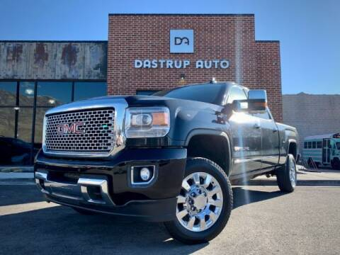 2015 GMC Sierra 2500HD for sale at Dastrup Auto in Lindon UT