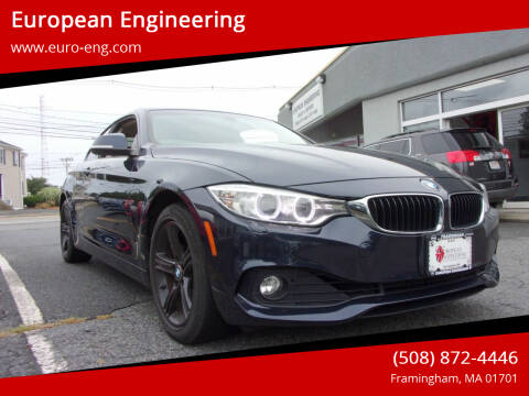 2014 BMW 4 Series for sale at European Engineering in Framingham MA