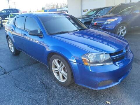 2014 Dodge Avenger for sale at TOP YIN MOTORS in Mount Prospect IL