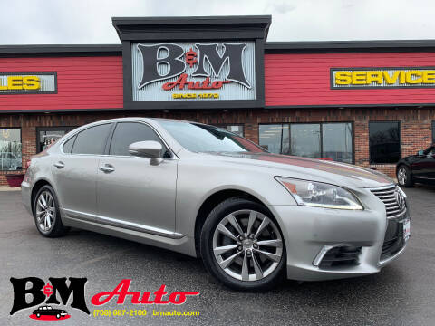 2016 Lexus LS 460 for sale at B & M Auto Sales Inc. in Oak Forest IL