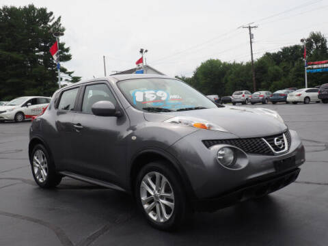 2014 Nissan JUKE for sale at Patriot Motors in Cortland OH
