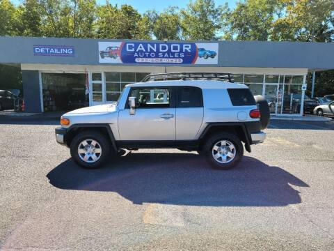 2007 Toyota FJ Cruiser for sale at CANDOR INC in Toms River NJ