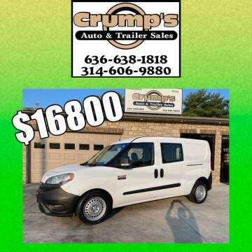 2017 RAM ProMaster City Cargo for sale at CRUMP'S AUTO & TRAILER SALES in Crystal City MO