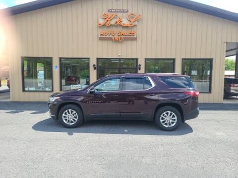 2019 Chevrolet Traverse for sale at K & L AUTO SALES, INC in Mill Hall PA