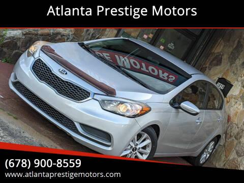2016 Kia Forte for sale at Atlanta Prestige Motors in Decatur GA