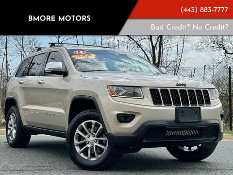 2014 Jeep Grand Cherokee for sale at Bmore Motors in Baltimore MD