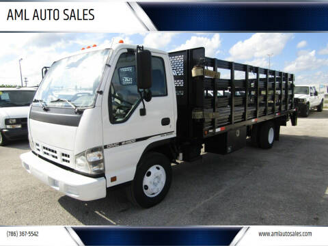 2007 GMC W4500 for sale at AML AUTO SALES - Flat Beds in Opa-Locka FL