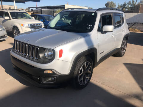 2015 Jeep Renegade for sale at Town and Country Motors in Mesa AZ