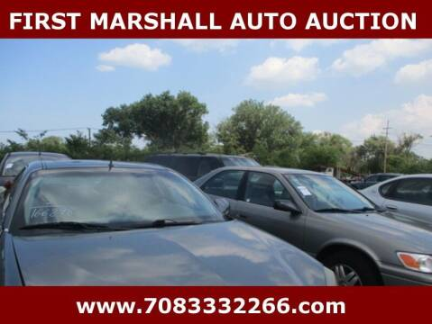 2005 Pontiac Grand Prix for sale at First Marshall Auto Auction in Harvey IL