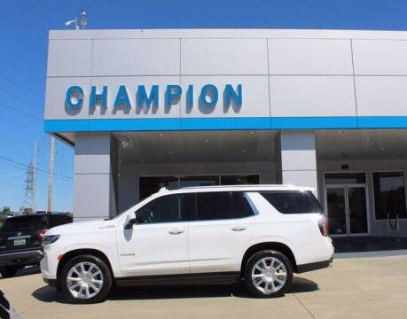 2021 Chevrolet Tahoe for sale at Champion Chevrolet in Athens AL