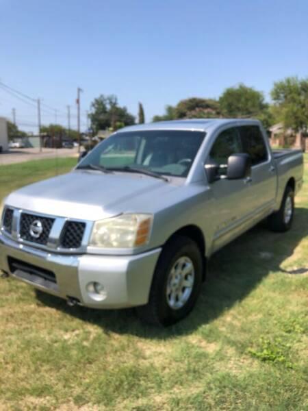 2006 Nissan Titan for sale at Carzready in San Antonio TX