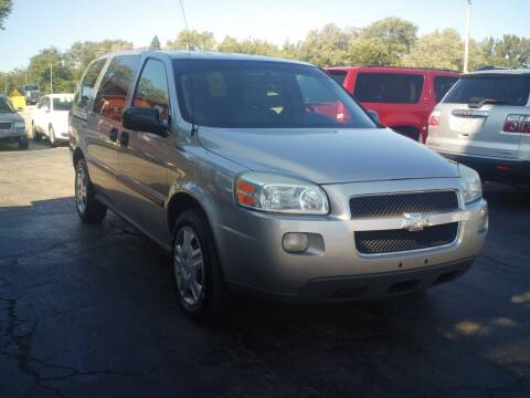 2007 Chevrolet Uplander for sale at BestBuyAutoLtd in Spring Grove IL