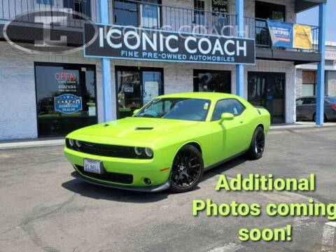 2015 Dodge Challenger for sale at Iconic Coach in San Diego CA