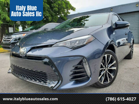 2017 Toyota Corolla for sale at Italy Blue Auto Sales llc in Miami FL