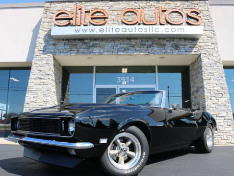 1968 Chevrolet Camaro for sale at Elite Autos LLC in Jonesboro AR
