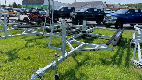 2021 GENESIS TRAILERS MBPT20-2 for sale at Action Motor Sales in Gaylord MI
